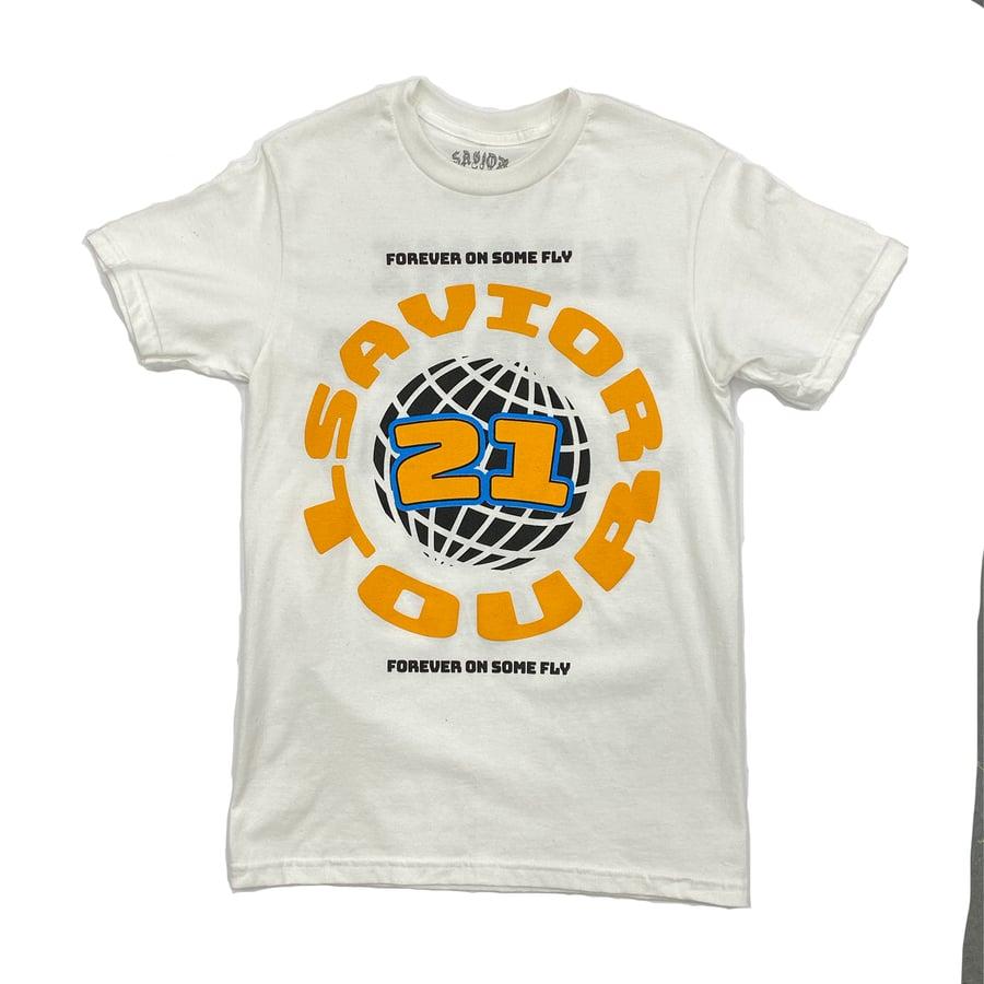 Image of Savior Tour 21' T-Shirt