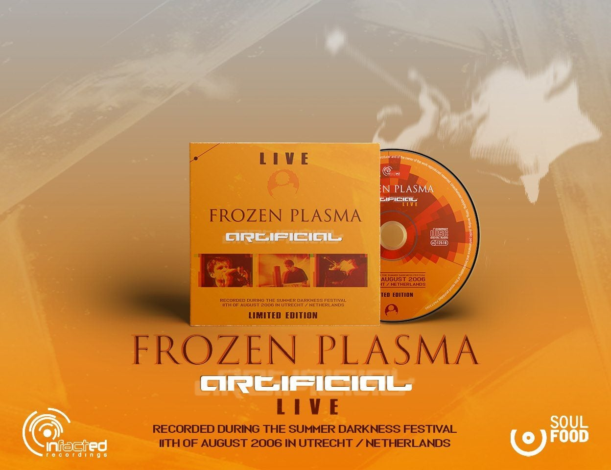 Image of FROZEN PLASMA - ARTIFICIAL LIVE (CD) Ltd. Edition