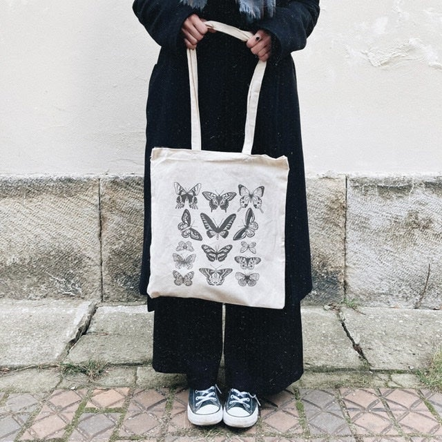 Image of Tote Bag Butterflies