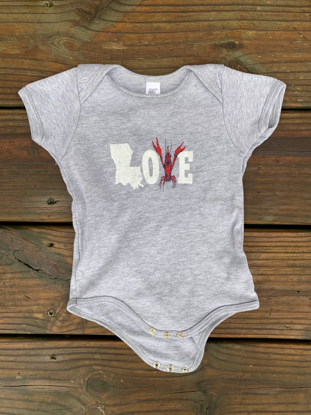 Image of Baby LOVE onesie