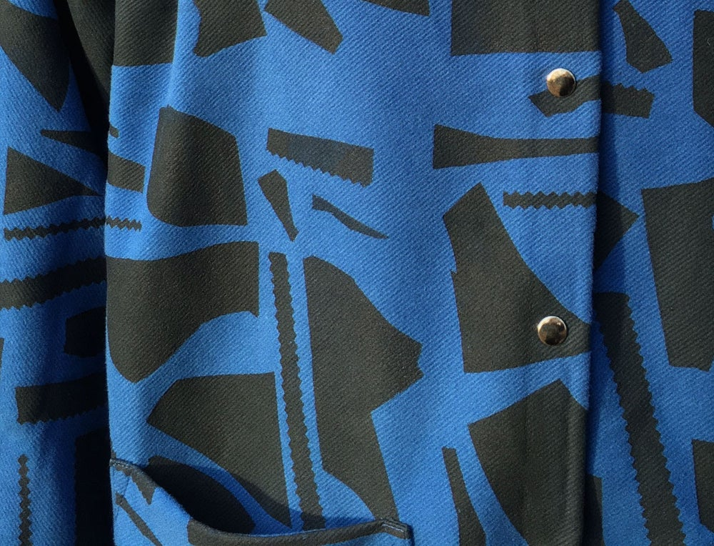 Image of BLUE CUT OUTS COAT