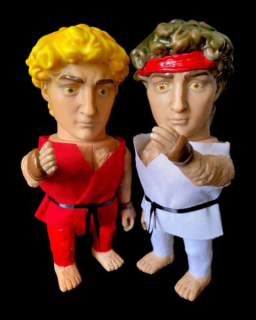 Image of Ryu / Ken Fugly Custom David