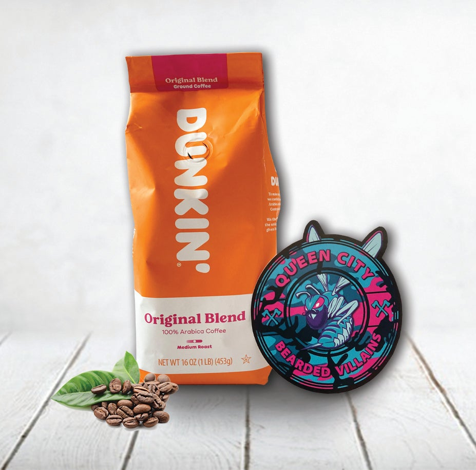 Image of Dunkin Donuts 1lb Varieties with Sticker