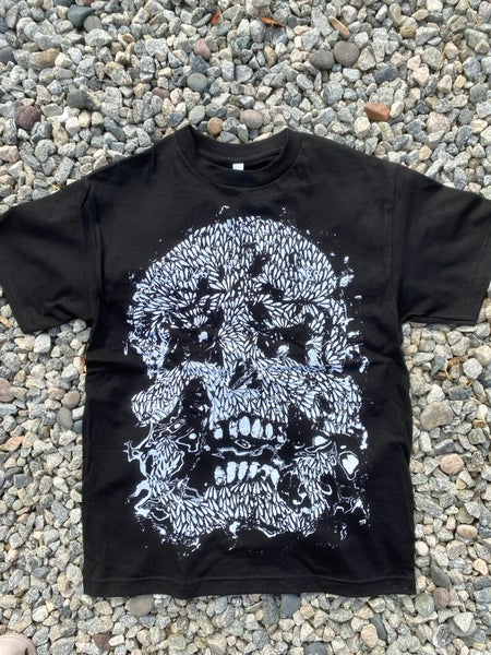 Image of Glitch Skull Short Sleeve