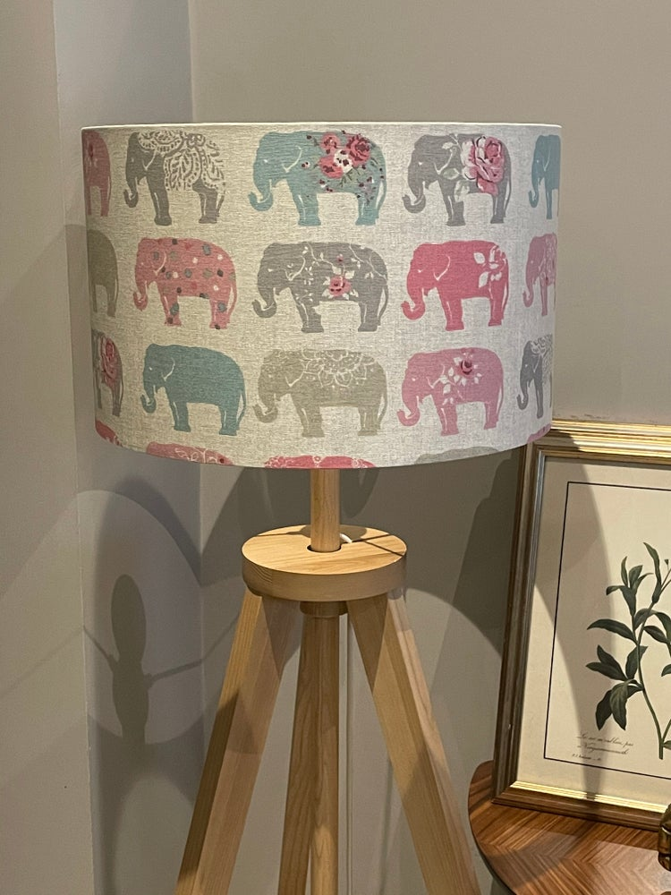 Image of Elephants Pastel Shade
