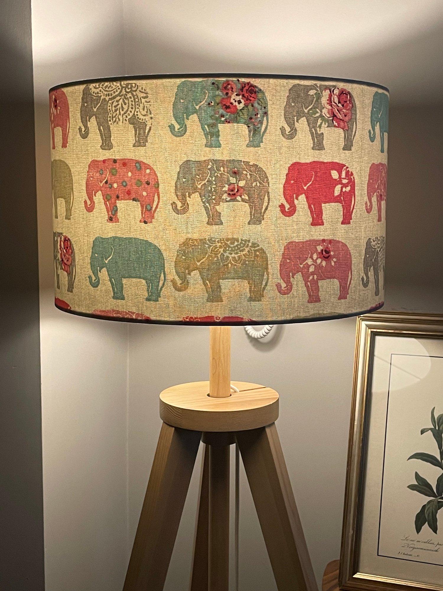 Image of Elephants Pastel Shade