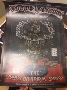 Image of The Babylon Spiral Poster