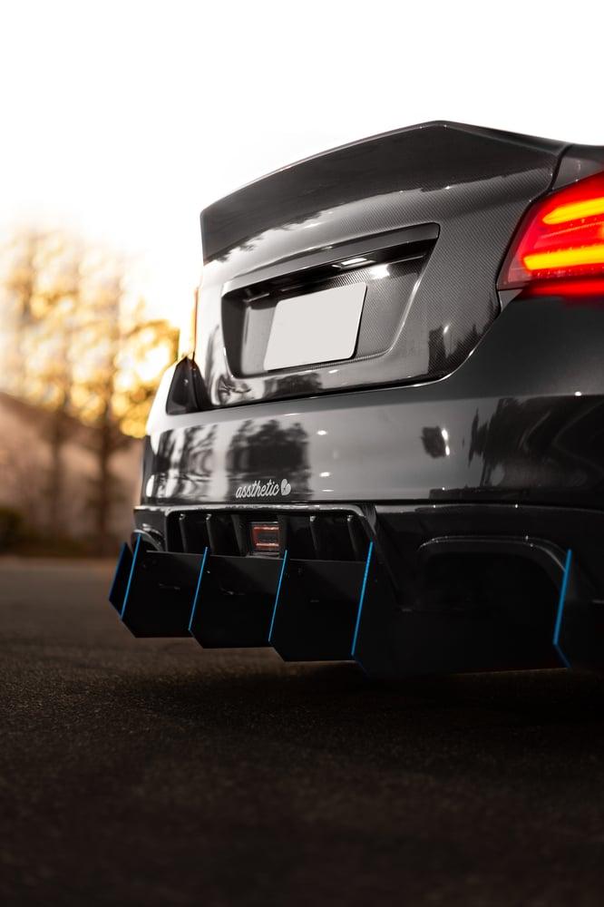 "Image of 2015-2020 Subaru WRX/STI ""V7"" Rear diffuser"
