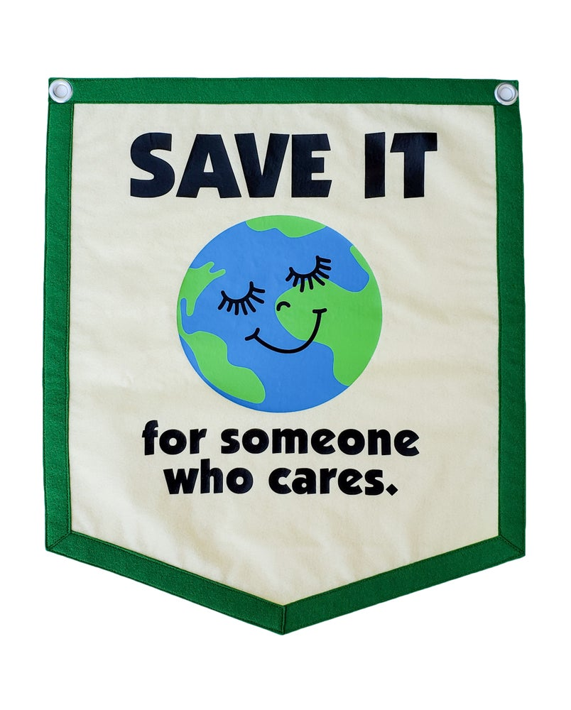 Image of Save It Banner