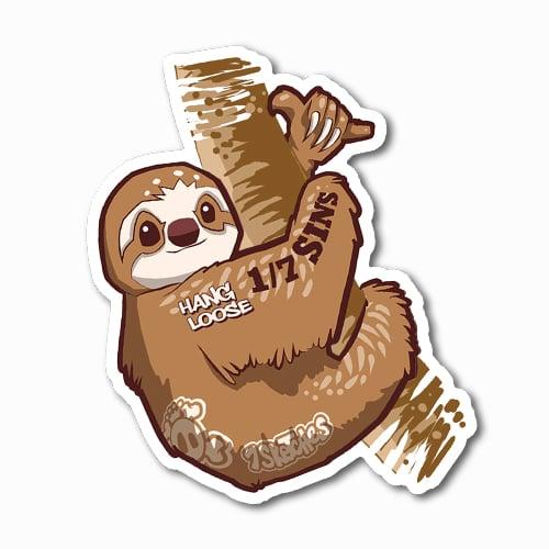 Image of Sloth Sticker