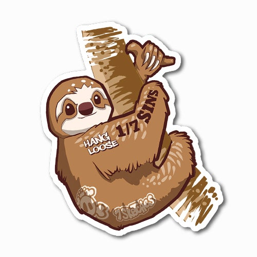 Image of Sloth Sticker