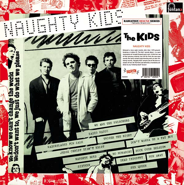 Image of THE KIDS - Naughty Kids 180gr LP