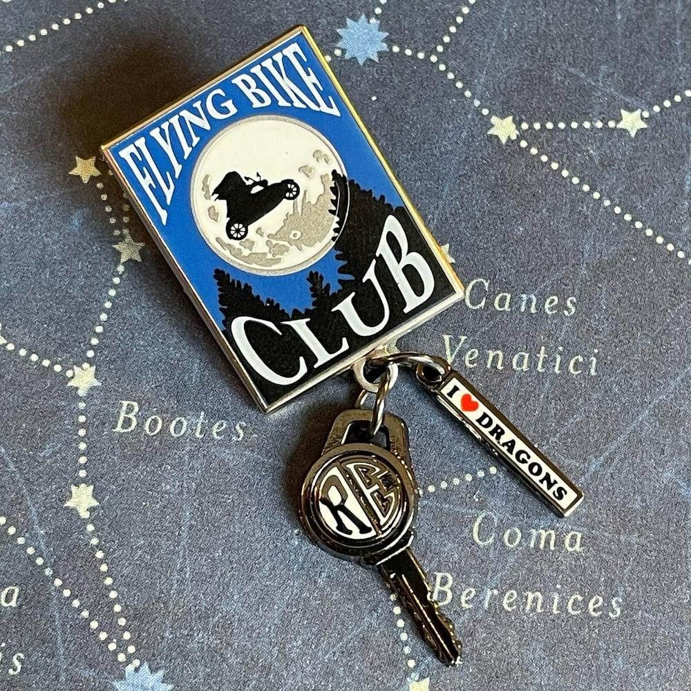 Image of Big Bike Key pin
