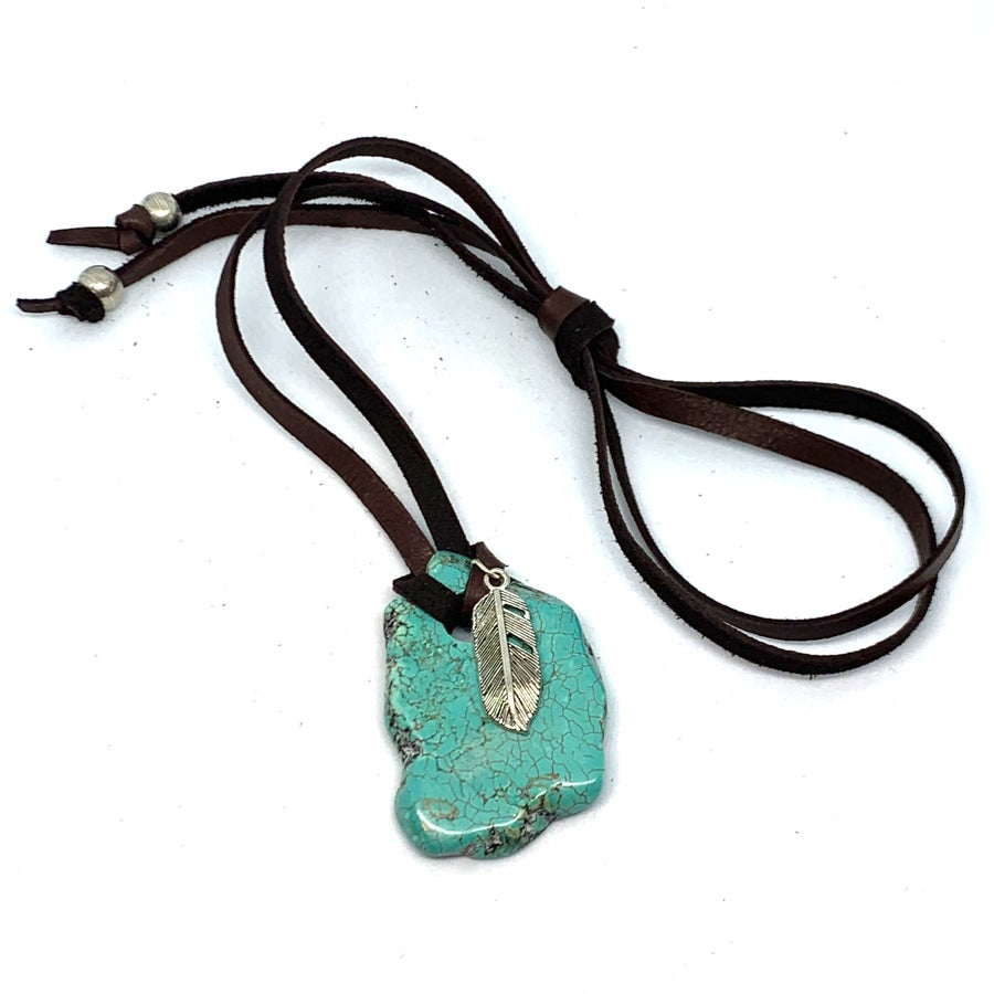 Image of Turquoise River Amulet