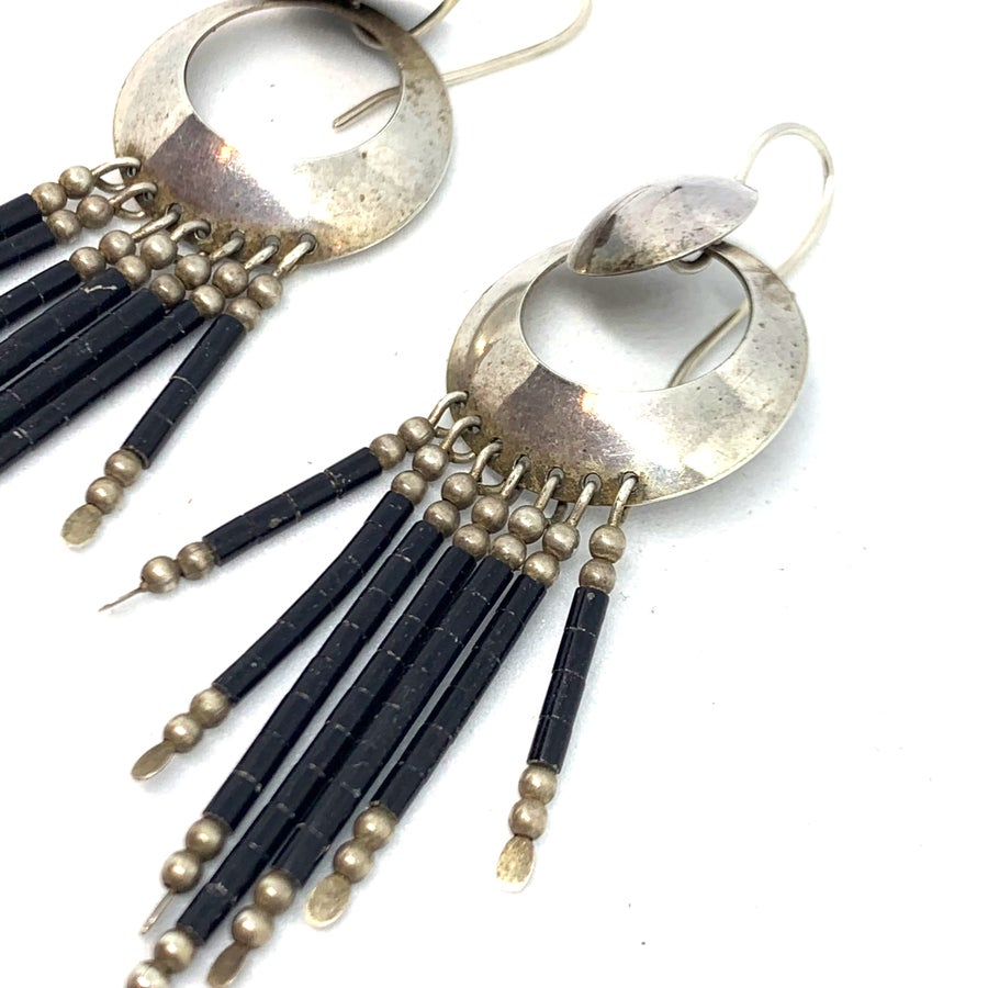 Image of Slick Dangle Earrings