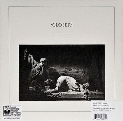 "JOY DIVISION - ""Closer"" LP - 180g w/download"