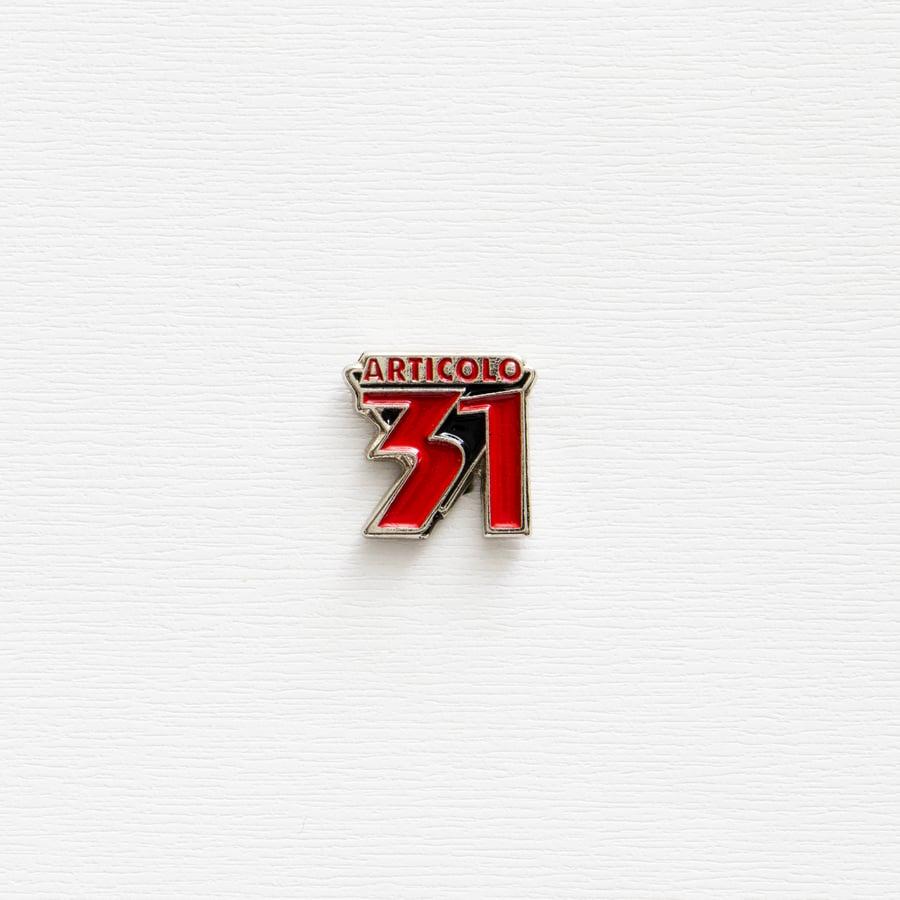 Image of Vintage Articolo 31 Enamel Pin