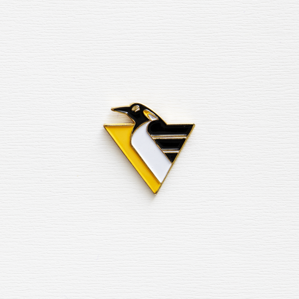 Image of Vintage NHL Pittsburgh Penguin Enamel Pin