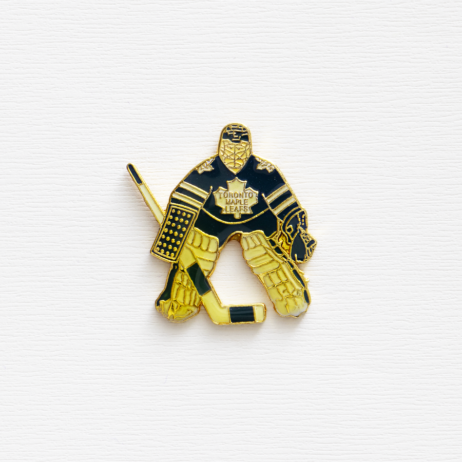 Image of Vintage NHL Toronto Maple Leafs Enamel Pin
