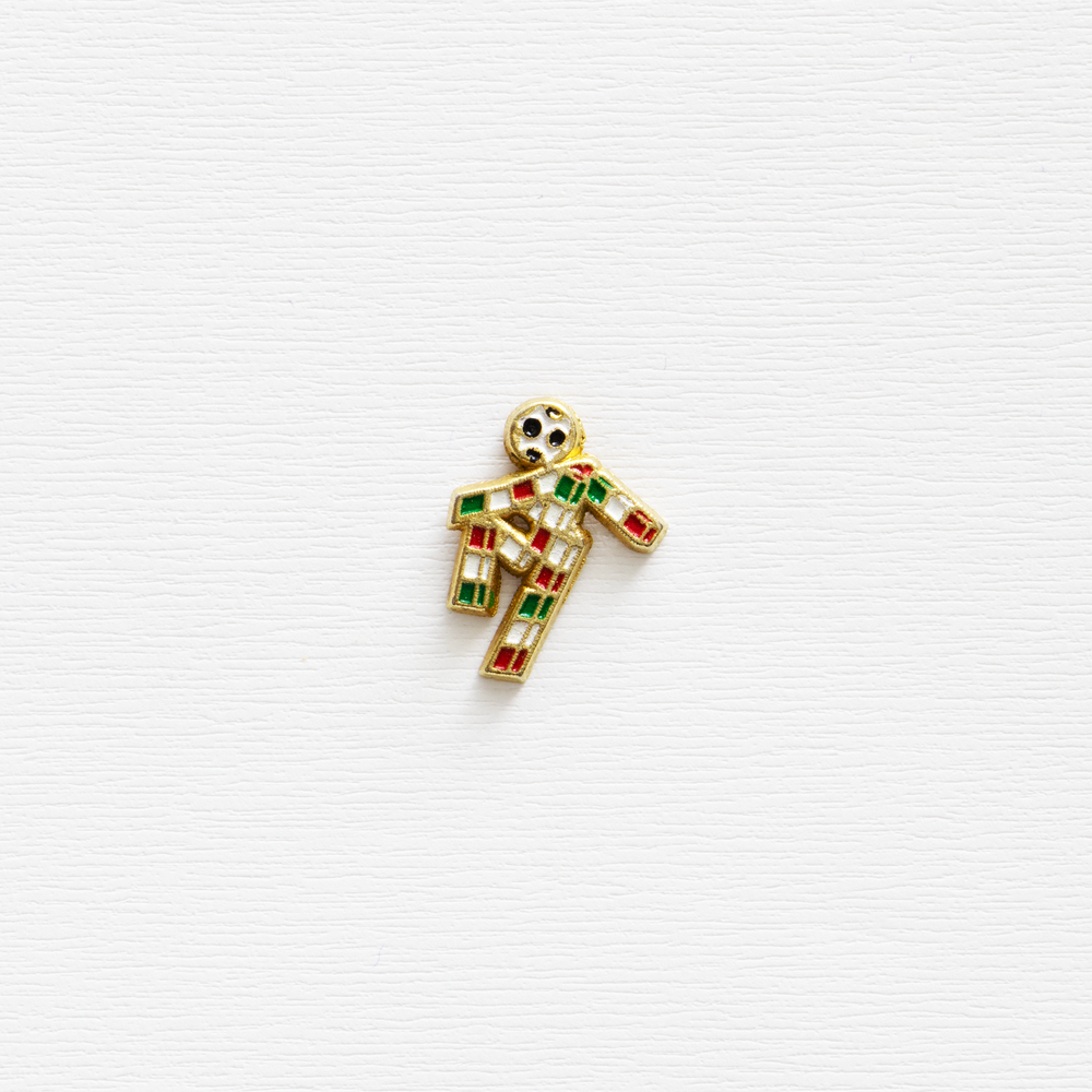 """Image of Vintage """"Ciao"""" Italia '90 World Cup Enamel Pin"""