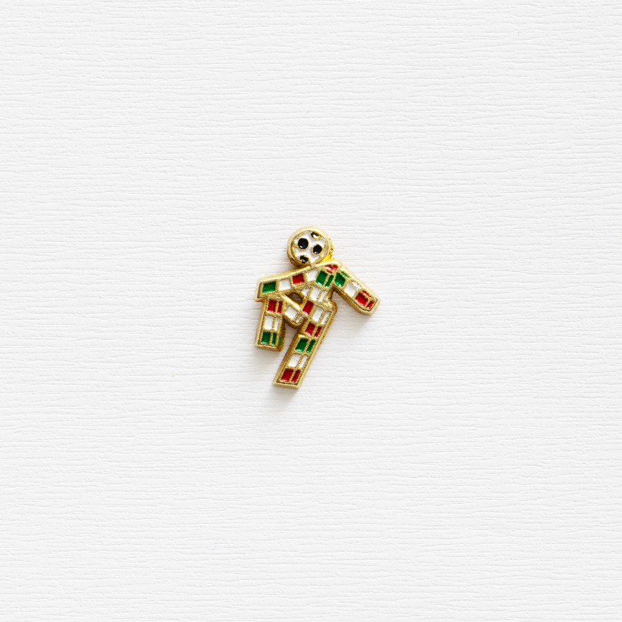 "Image of Vintage ""Ciao"" Italia '90 World Cup Enamel Pin"