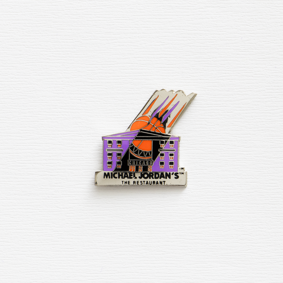 Image of Vintage Micheal Jordan's Restaurant Pin