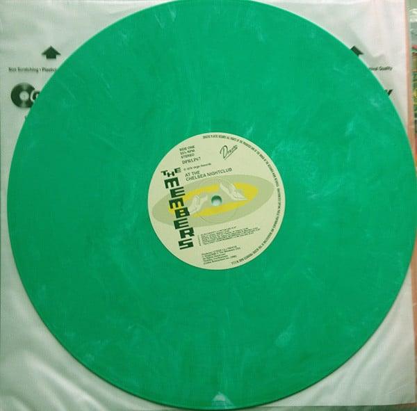 """the MEMBERS - """"At The Chelsea Nightclub"""" LP - Green Vinyl"""