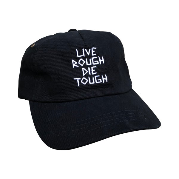 "Image of Black ""Scratch"" Hat"