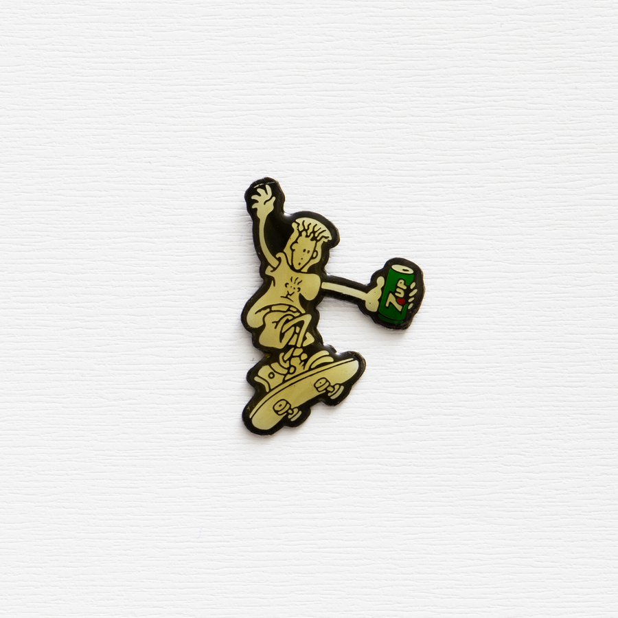 Image of Vintage Fido Dido 7 Up Promo Pin