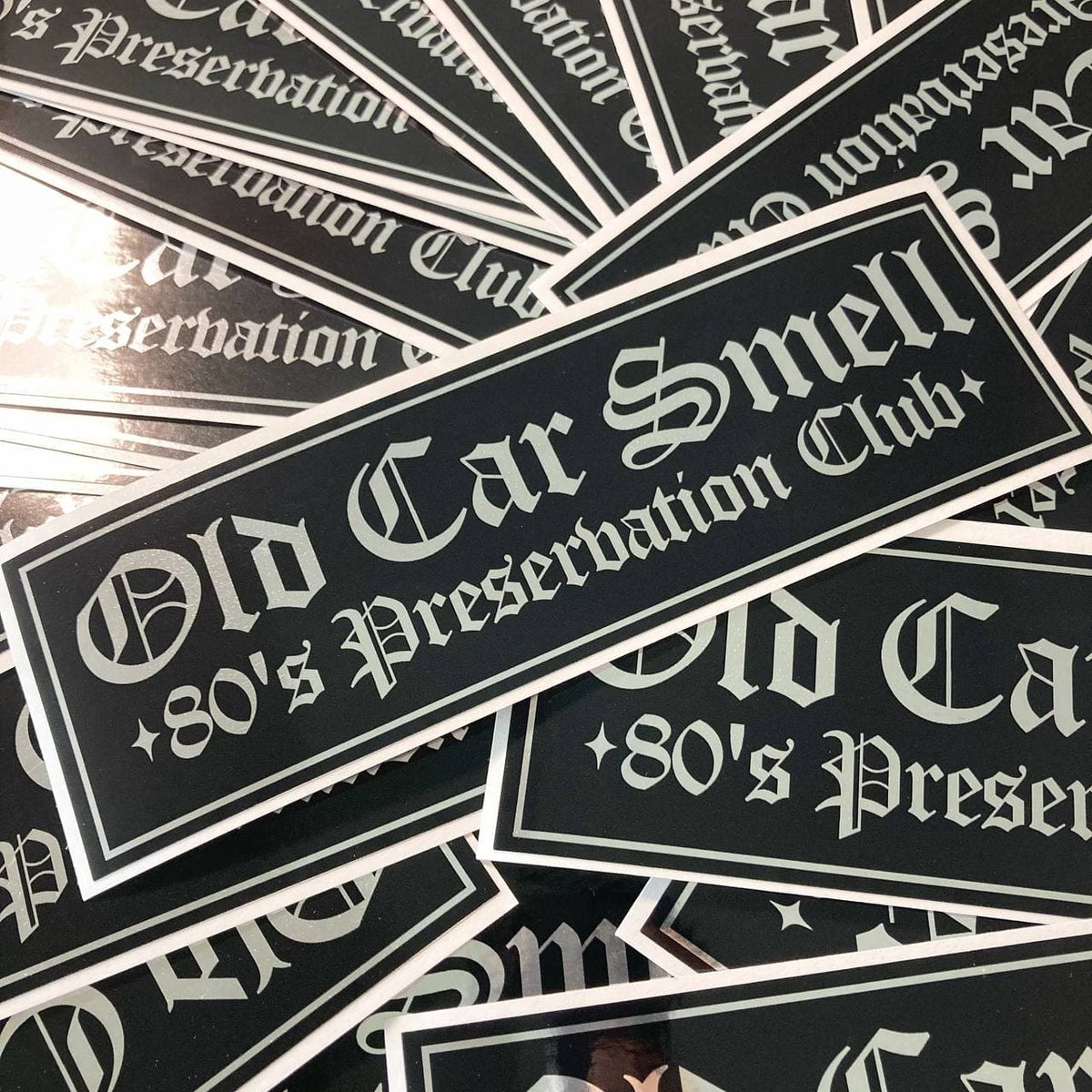 Image of Old Car Smell - 80's Preservation Club
