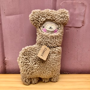 Image of Lenny Llama ( Latte colour)