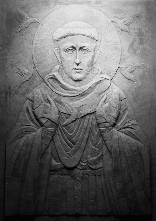 Image of St. Francis of Assisi Relief