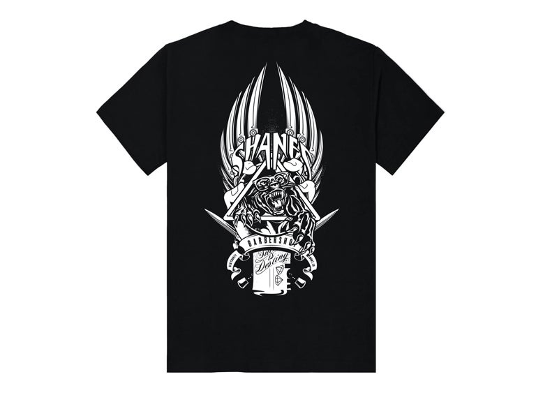 "Image of Shane's ""Homage"" Tee (Black)"
