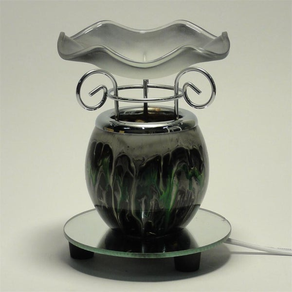 Image of Blissful Warmers Collaboration - Black Electric Glass Warmer