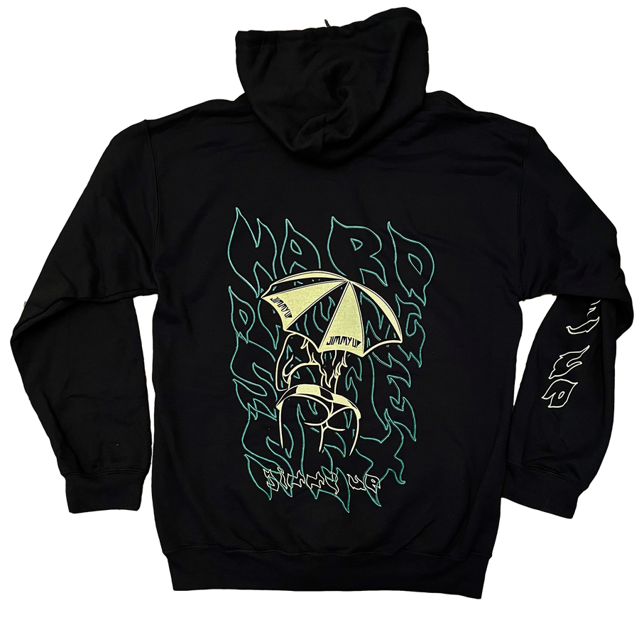 Image of Umbrella Girl FLAME Zip Up