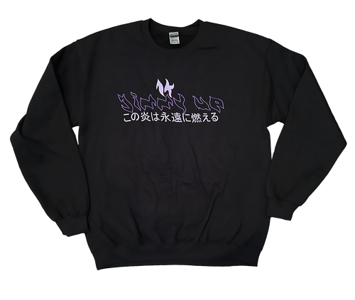 Image of S14 Purple Fire Crew (XL Only)