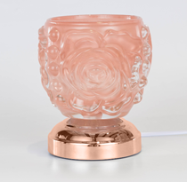 Image of Blissful Warmers Collaboration - Pink Glass Touch Lamp Warmer