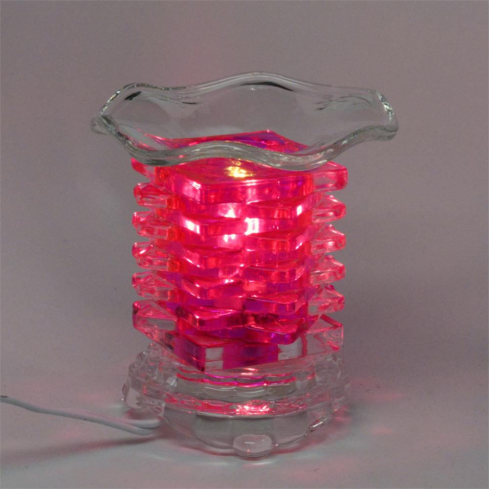 Image of Blissful Warmers Collaboration - Pink Crystal Glass Warmer