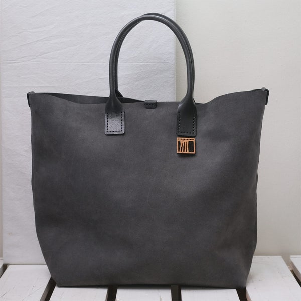 Image of Hand-held Suede Tote