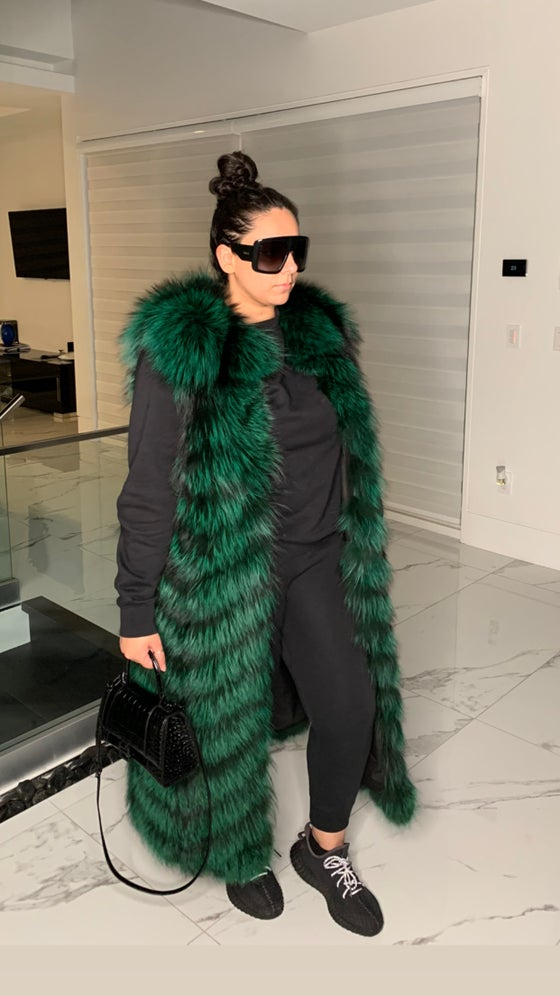 Image of Victoria Fur Vest or Coat