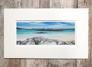 Image of Arisaig rocks giclee print