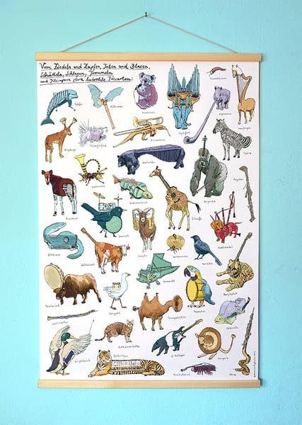 Image of Instrumentiere |Großes Poster |DIN A1* mit Posterleisten