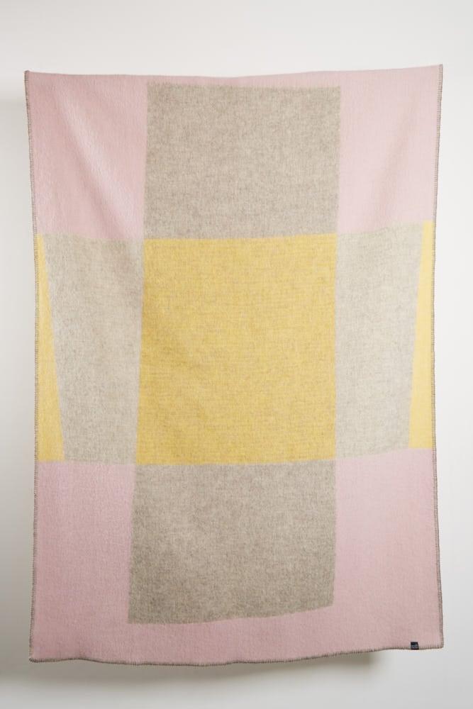 Image of Bauhaused 3 wool blanket
