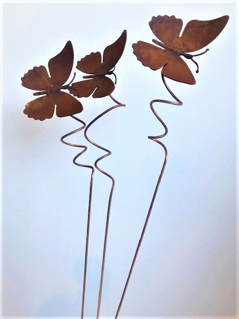 Curly Butterfly plant stake