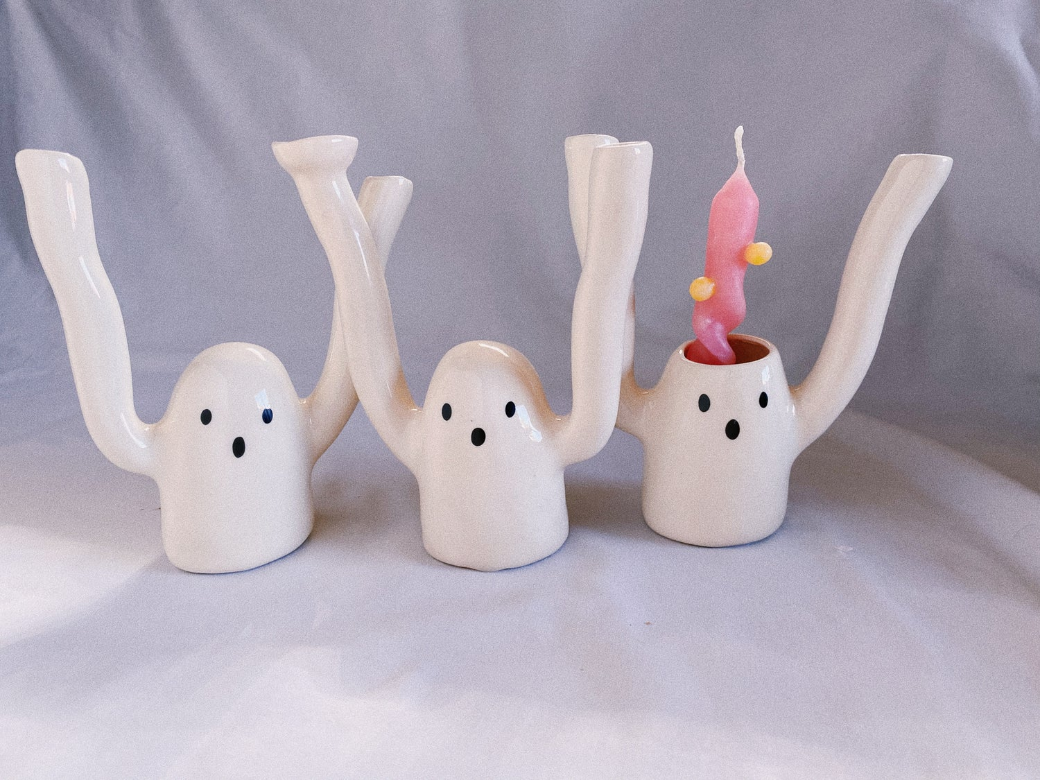 Image of Ghost Candle Holder