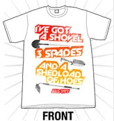 "Image of ""Shedload of Hoes"" Tee"