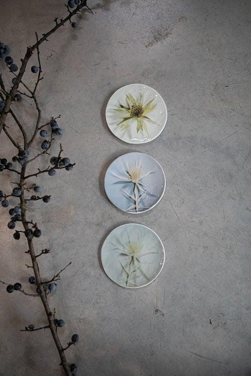 Image of Piatti in vetro collezione Fiori di Andrea Merendi per Vetrofuso© di Daniela Poletti