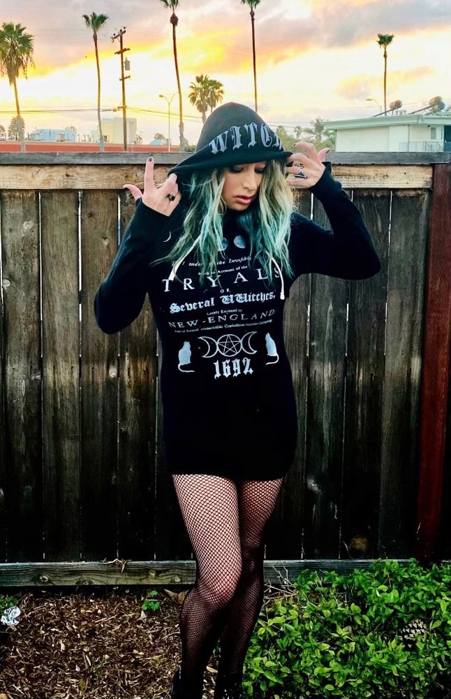 Image of Witch Tryals - Hoodie Dress