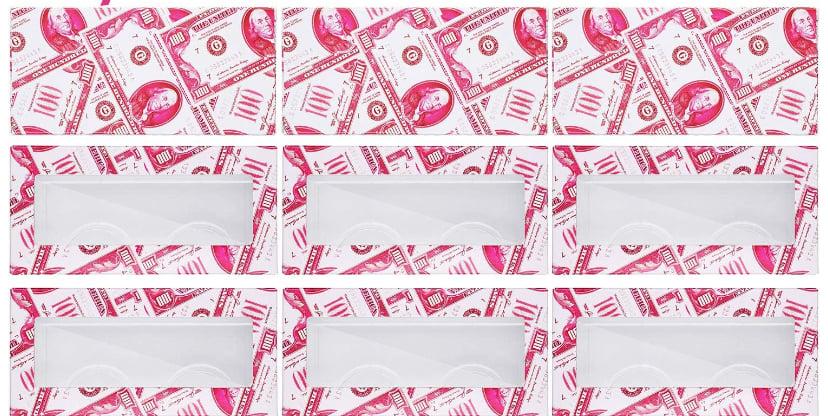 Image of Empty Eyelash Box- Pink Doller