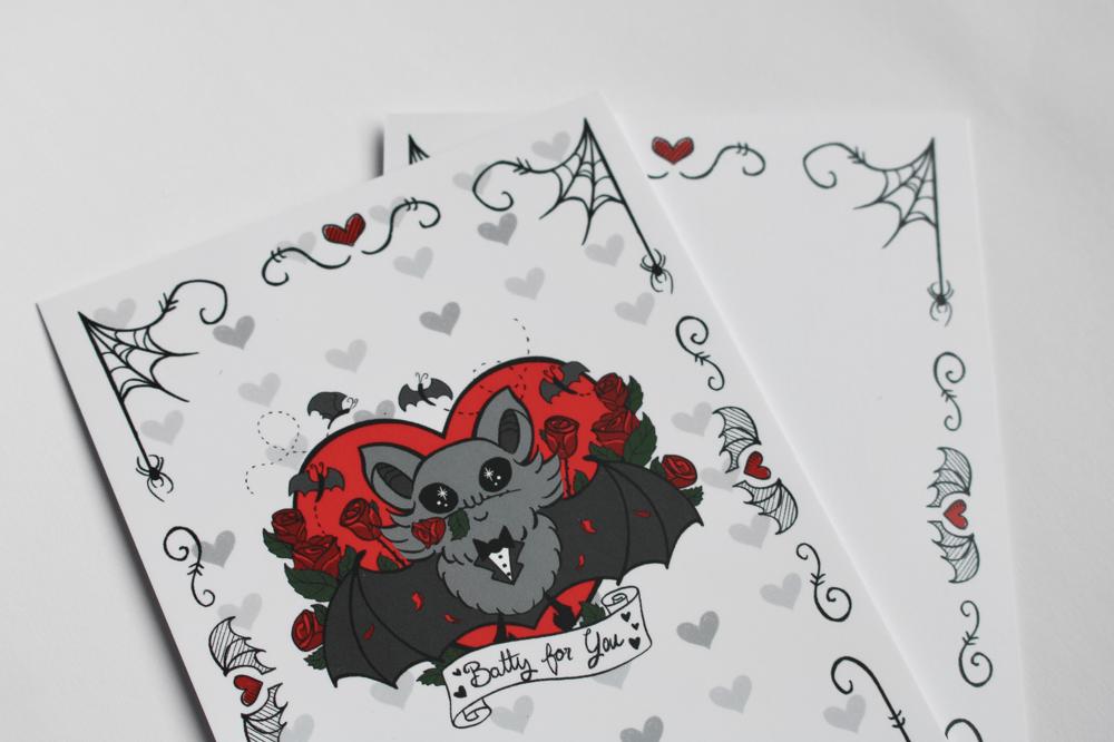 Batty Valentine's Cards! ♥